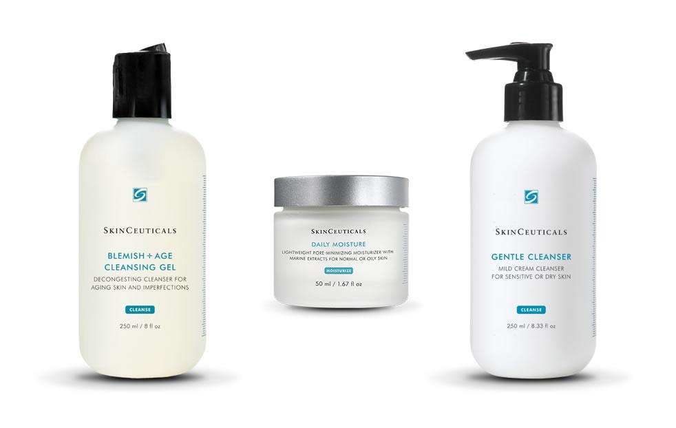 Limpieza e hidratación facial - skin ceuticals